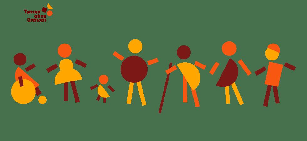 Tanzen ohne Grenzen - Diversity und Inklusion Menschen